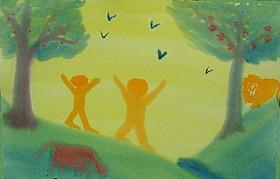 Adam & Eve in Eden