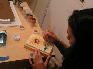 Making a Linoleum Block Cut